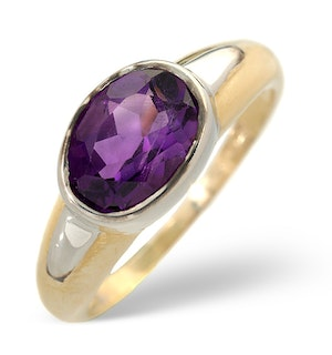 Amethyst 1.15ct 9K Gold Ring