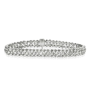 Evening Bracelet 5.50CT Diamond 18KW