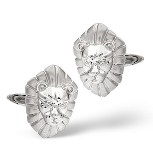 Cufflinks 0.03CT Diamond 9K White Gold