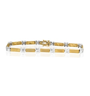 Everyday Bracelet 0.25CT Diamond 2-Tone