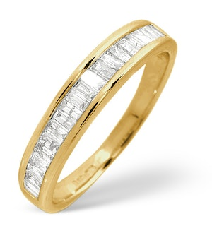 Grace Half Eternity Ring 0.50CT Diamond 9K Gold