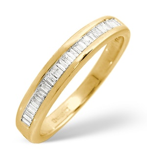 Grace Half Eternity Ring 0.25CT Diamond 9K Gold