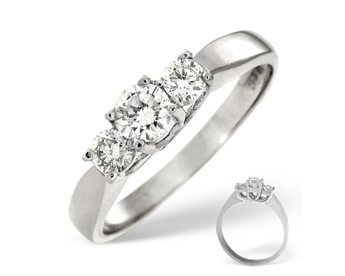 Ariella 3 Stone Diamond Rings