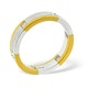 Mens 0.28ct H/Si Diamond 18K Gold Dress Ring - image 2