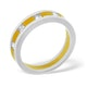 Mens 0.35ct G/Vs Diamond 18K Gold Dress Ring - image 3
