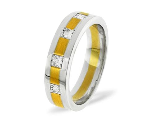 Lauren 4 Stone Wedding Rings