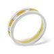 Mens 0.14ct H/Si Diamond 18K Gold Dress Ring - image 3