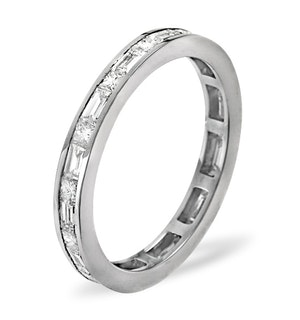 Eternity Ring Abigail Platinum Diamond 1.00ct H/Si
