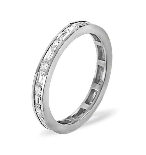 Eternity Ring Abigail 18K White Gold Diamond 2.00ct H/Si - image 1
