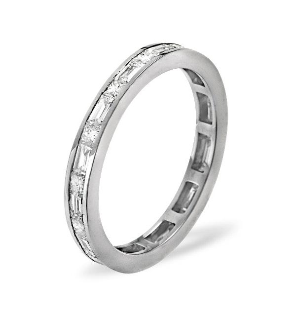 Eternity Ring Abigail 18K White Gold Diamond 1.00ct H/Si - image 1