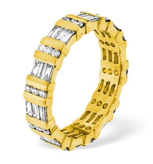 Eternity Ring Mia 18K Gold Diamond 1.50ct H/Si