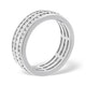 Eternity Ring Amy 18K White Gold Diamond 2.00ct H/Si - image 3