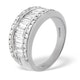18K White Gold Diamond Ring 1.50ct H/si - image 4