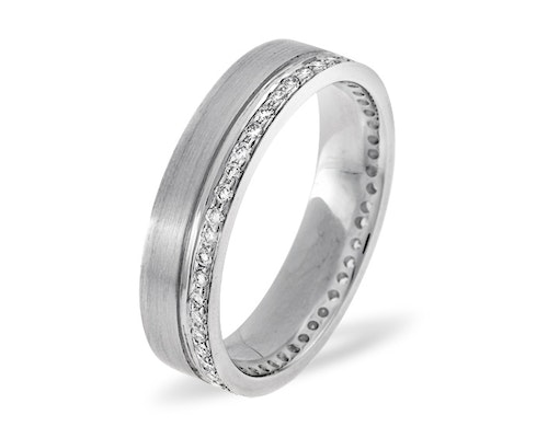 White Gold Mens Diamond Rings