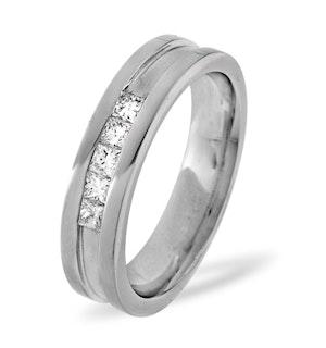 Mens 0.22ct H/Si Diamond 18K White Gold Dress Ring Item IYD29-44JUY