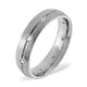 Grace 18K White Gold Diamond Wedding Ring 0.14CT H/SI - image 1