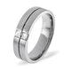 Mens 0.16ct H/Si Diamond Platinum Dress Ring - image 1
