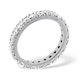 Eternity Ring Poppy 18K White Gold Diamond 2.00ct H/Si - image 2