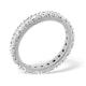 Mens 2ct H/Si Diamond 18K White Gold Full Band Ring  IHG20-422JUY - image 2