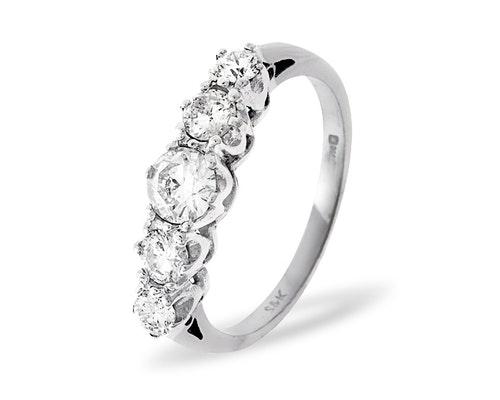 5 Stone Grace Rings