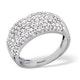 18K White Gold Diamond Ring 1.35ct - image 3