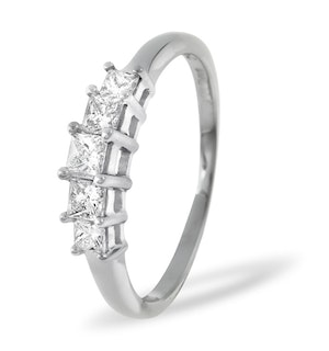 0.50ct G/vs Diamond and Platinum Ring -  FT29-72XUS
