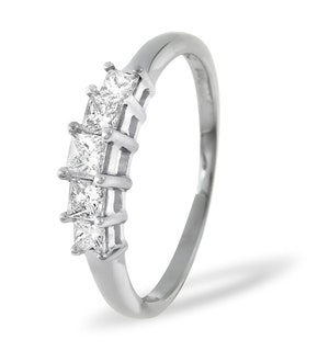 0.25ct H/si Diamond and Platinum Ring -  FT29-47JUS
