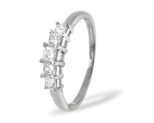 5 Stone Lucy Rings