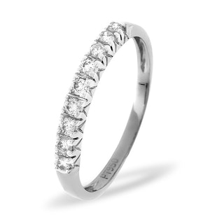 Platinum and Diamond Eternity Ring 0.29CT
