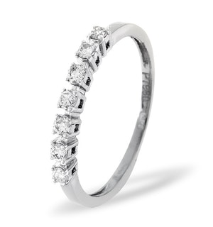 Platinum and Diamond 0.29CT Eternity Ring