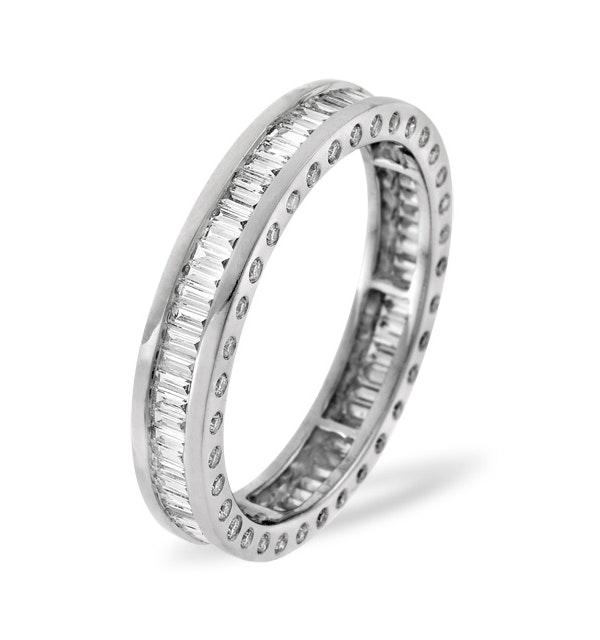 Eternity Ring Skye 18K White Gold Diamond 1.00ct G/Vs - image 1
