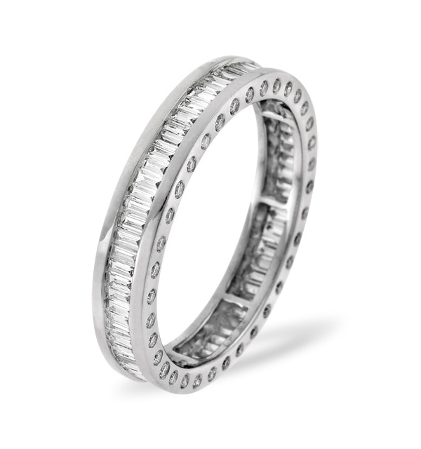 Eternity Ring Skye 18K White Gold Diamond 1.00ct G/Vs - image 1