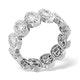 Eternity Ring Sophie 18K White Gold Diamond 1.50ct H/Si - image 3
