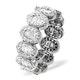 Eternity Ring Sophie 18K White Gold Diamond 1.50ct H/Si - image 1