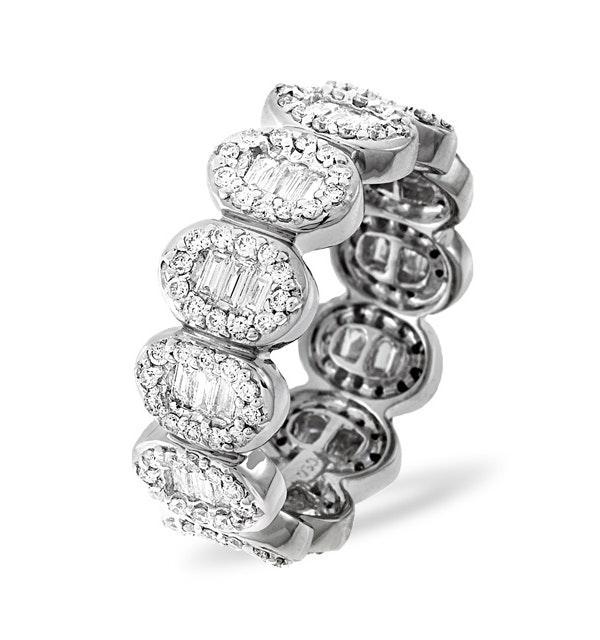 Eternity Ring Sophie Platinum Diamond 1.50ct G/Vs - image 1