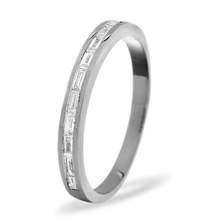 LILY PLATINUM Diamond ETERNITY RING 0.50CT H/SI