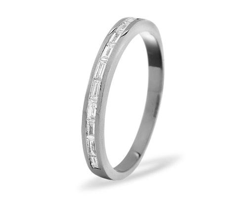 Lily Half Eternity Rings