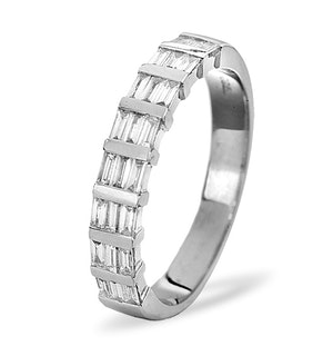 SKYE PLATINUM Diamond ETERNITY RING 0.50CT G/VS