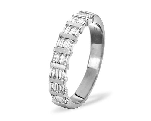 Skye Half Eternity Rings
