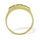 Peridot 3mm 9K Yellow Gold Ring - image 2