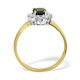 Sapphire 0.90ct And Diamond 9K Gold Ring - image 3