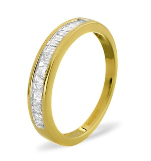 Grace Half Eternity Ring 0.33CT Diamond 9K Yellow Gold