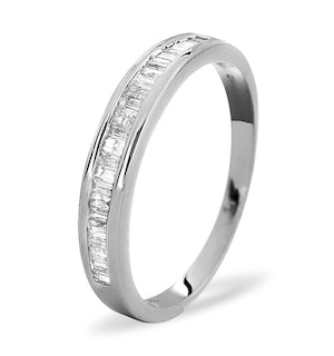 Grace Half Eternity Ring 0.33CT Diamond 9K White Gold