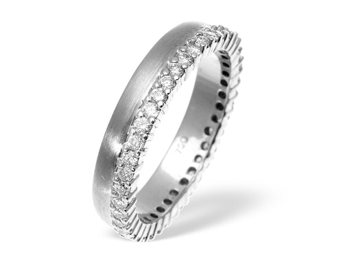 Emily High Set Wedding Rings