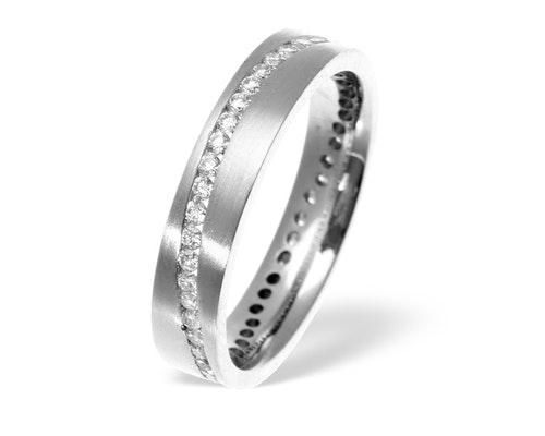 Lucy Swirl Wedding Eternity Rings