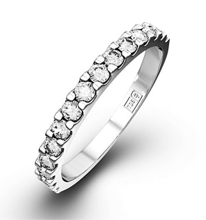 15 Stone Chloe Platinum Diamond Half Eternity 1.50Ct G/Vs