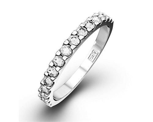 15 Stone Chloe Half Eternity Rings
