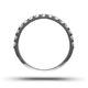 15 STONE CHLOE PLATINUM DIAMOND HALF ETERNITY RING 0.50CT G/VS - image 3
