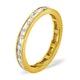 Eternity Ring Abigail 18K Gold Diamond 2.00ct H/Si - image 1