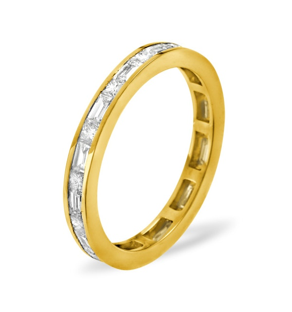 Eternity Ring Abigail 18K Gold Diamond 1.00ct H/Si - image 1